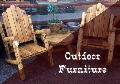 Outdoor Furniture and Gold Panning in Cascade, Colorado