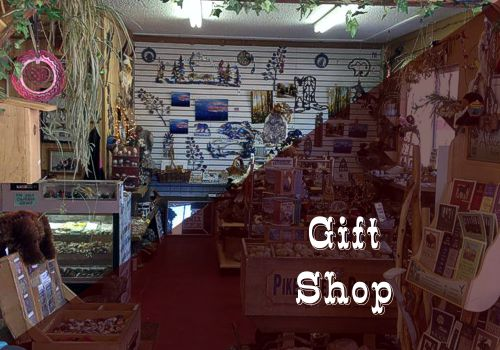 Gift Shop with Rocks, Metal Art, Gems & Stones in Cascade, Colorado